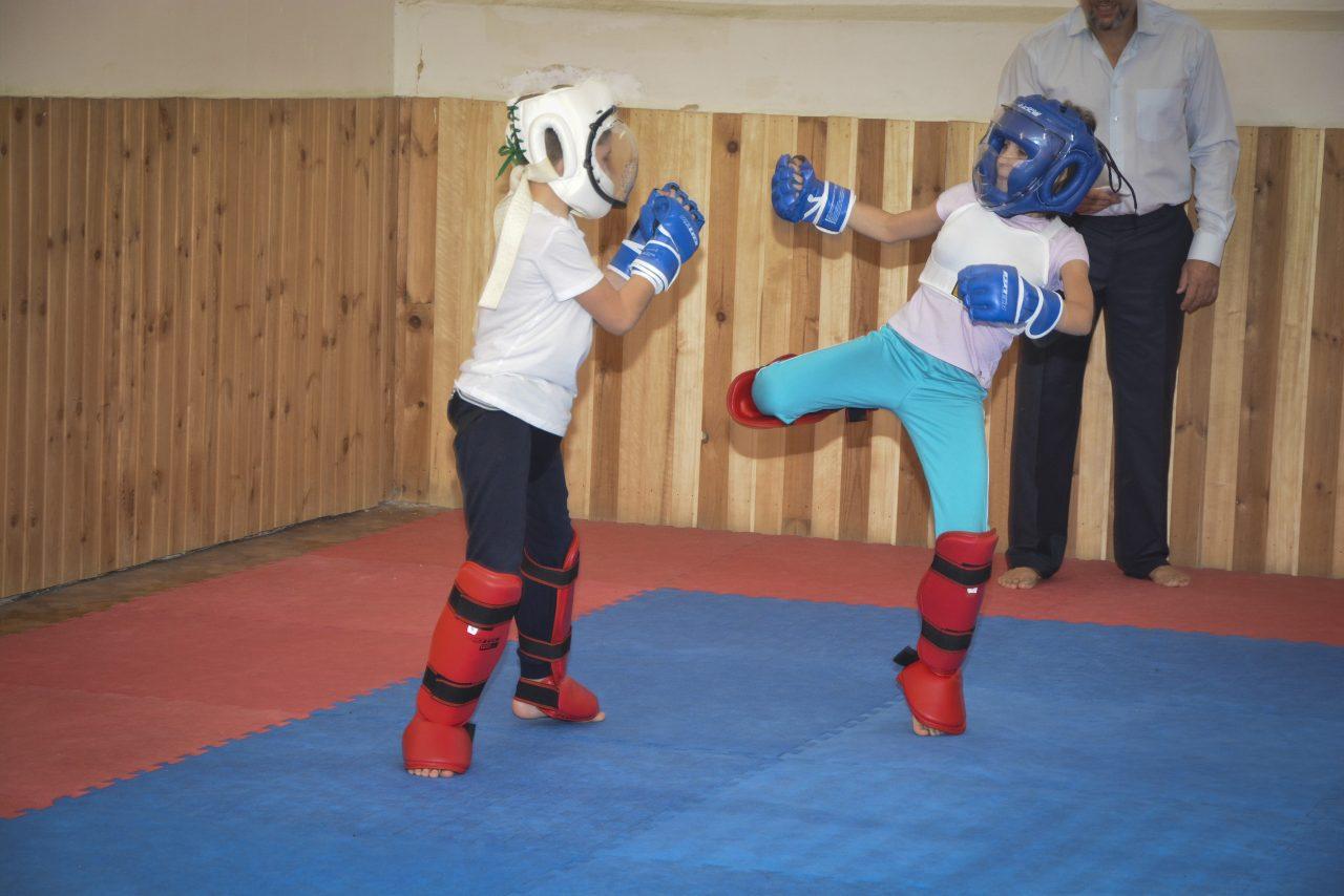 Первый бой в Академии