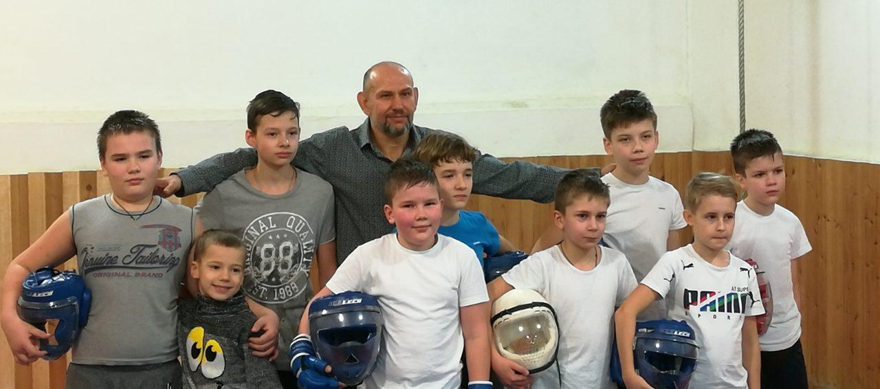 академия боя 2018 младшая группа