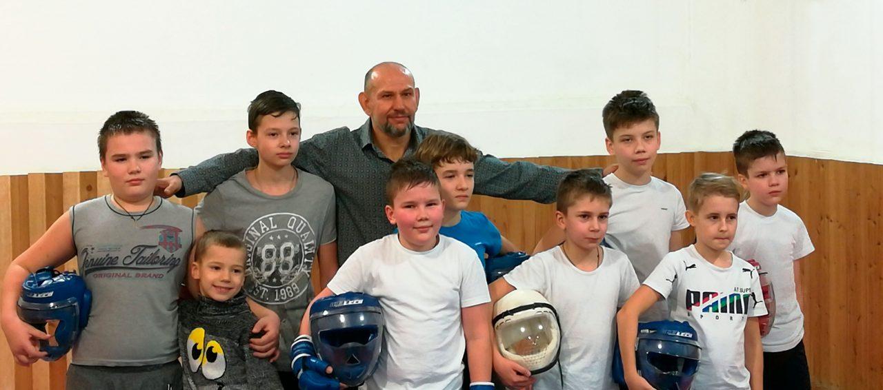 Детская группа Академии боя Воронеж