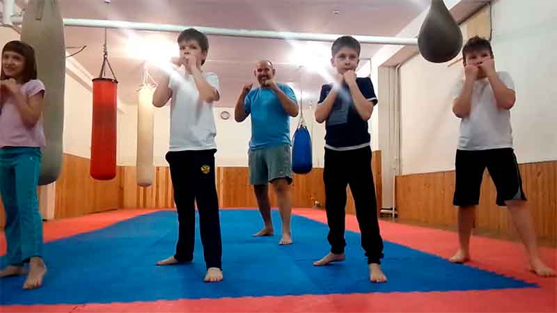 Академия боя для детей